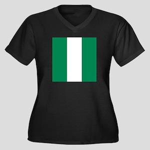 Flag of Nigeria Plus Size T-Shirt