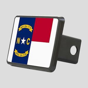 Flag of North Carolina Rectangular Hitch Cover
