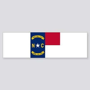 Flag of North Carolina Bumper Sticker