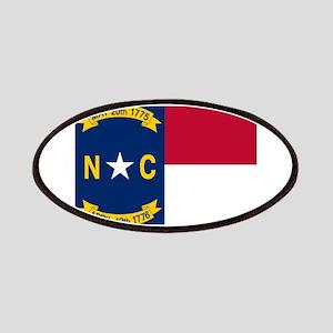 Flag of North Carolina Patches
