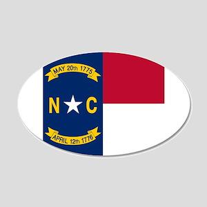 Flag of North Carolina Wall Sticker