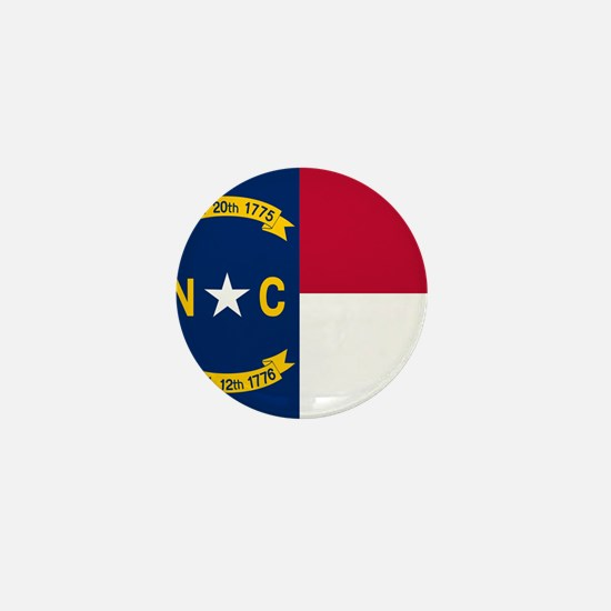 Flag of North Carolina Mini Button