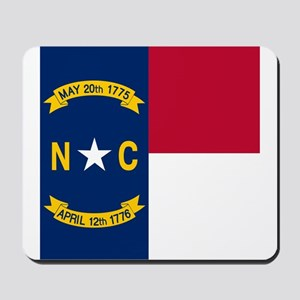 Flag of North Carolina Mousepad
