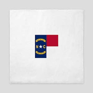 Flag of North Carolina Queen Duvet