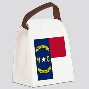 Flag of North Carolina Canvas Lunch Bag