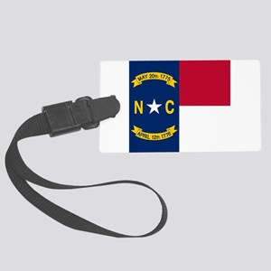 Flag of North Carolina Large Luggage Tag