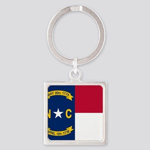 Flag of North Carolina Keychains
