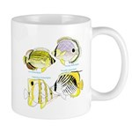 4 ButterflyFish C Mugs