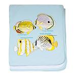 4 ButterflyFish C baby blanket