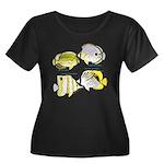4 ButterflyFish C Plus Size T-Shirt
