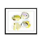 4ButterflyFish Framed Panel Print