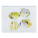 4butterflyfish Wall Calendar