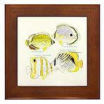 4ButterflyFish Framed Tile