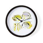 4ButterflyFish Wall Clock