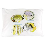 4ButterflyFish Pillow Case