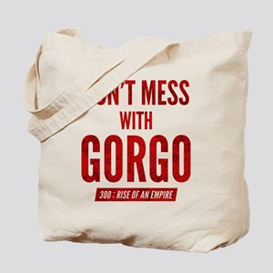 300 Dont Mess With Gorgo Tote Bag