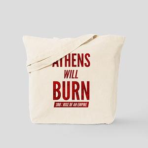 300 ROAE Athens Will Burn Tote Bag