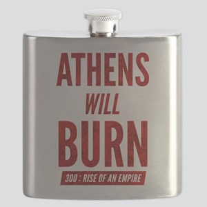 300 ROAE Athens Will Burn Flask