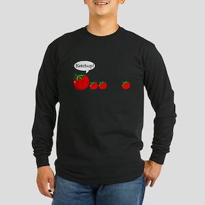 Ketchup! Long Sleeve Dark T-Shirt