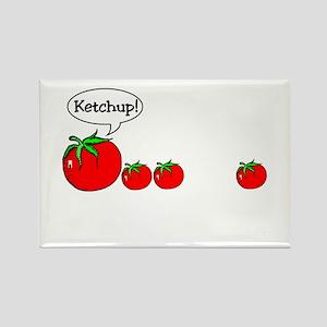 Ketchup Joke Rectangle Magnet (10 pack)