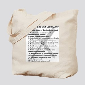 12 Steps for the Screwed Tote Bag