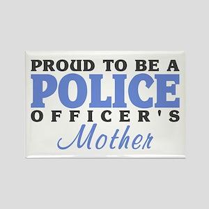 Officer's Mother Rectangle Magnet
