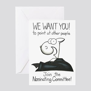 Nominating Committee Greeting Card
