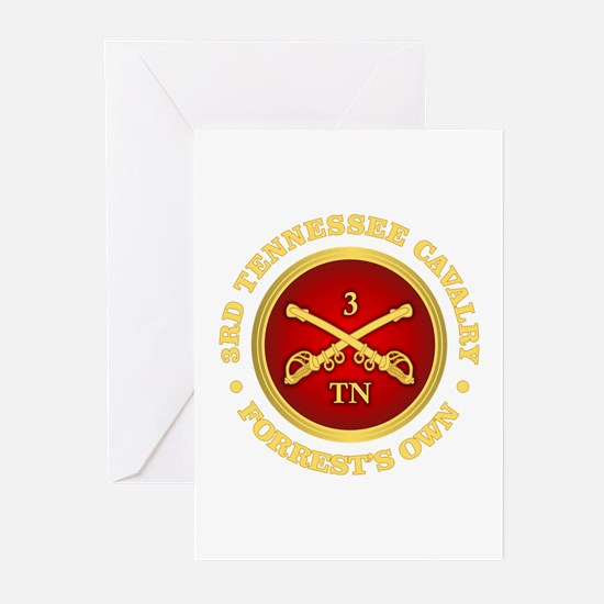 3rd Tennessee Cavalry Greeting Cards