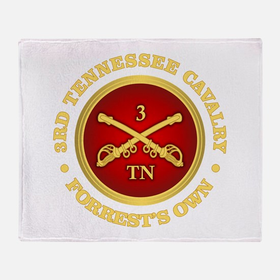 3rd Tennessee Cavalry Throw Blanket