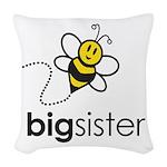 Big Sister Woven Throw Pillow