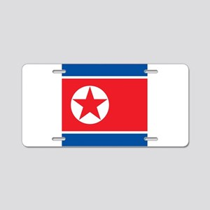 Flag of North Korea Aluminum License Plate