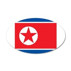 Flag of North Korea Wall Sticker