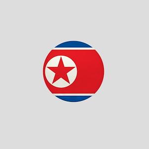 Flag of North Korea Mini Button