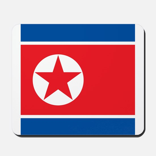 Flag of North Korea Mousepad