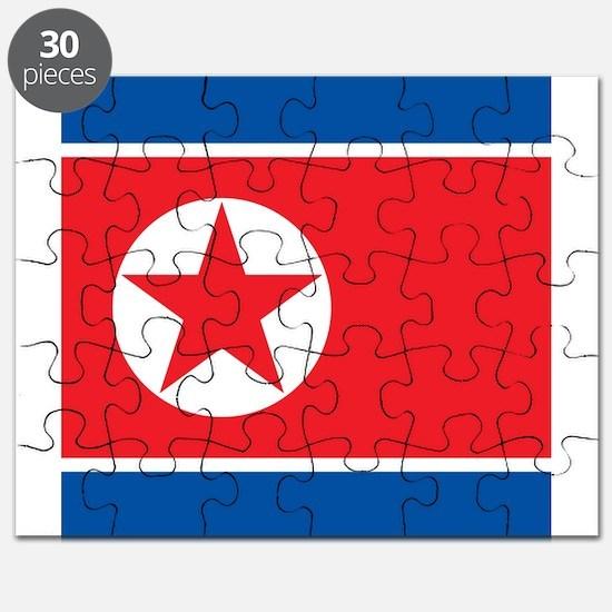 Flag of North Korea Puzzle