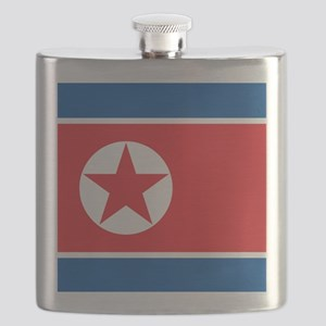 Flag of North Korea Flask