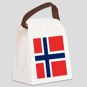 Flag of Norway Canvas Lunch Bag