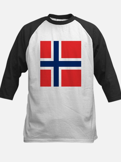 Flag of Norway Baseball Jersey