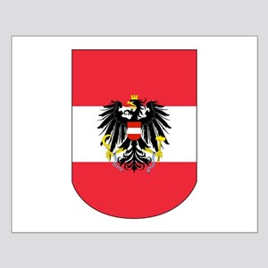 Austrian Coat of arms on Shield Posters