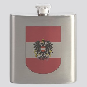Austrian Coat of arms on Shield Flask