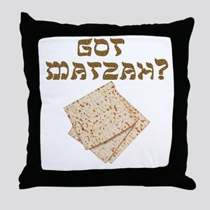 Got Matzah for Passover? Throw Pillow