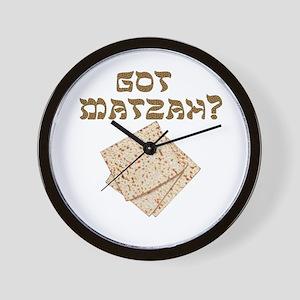 Got Matzah for Passover? Wall Clock
