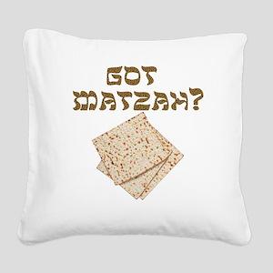 Got Matzah for Passover? Square Canvas Pillow
