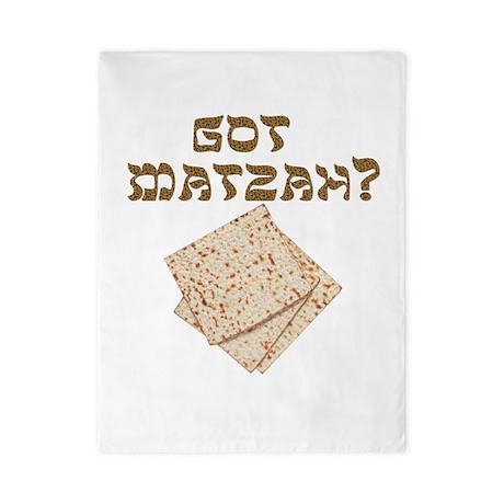 Got Matzah for Passover? Twin Duvet