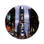New York Souvenir Times Square Ornament (Round)