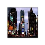 "New York Souvenir Times Square Sticker 3"" X 3"""