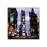 "New York Souvenir Times Square Sticker 3"" X 3"""