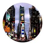 New York Souvenir Ny City Round Car Magnet