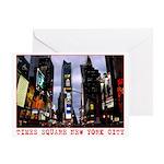 New York Souvenir Cards Times Square Greeting Card
