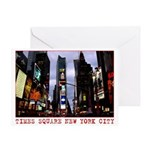 New York Souvenir Cards Times Square Greeting Card